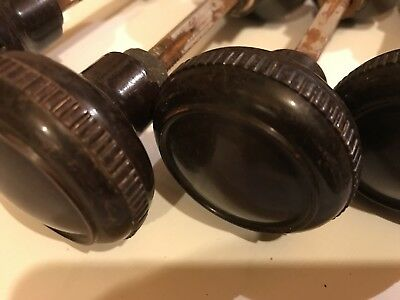 5 Art Deco Unusual Bakelite Door Furniture Rimlock Handles