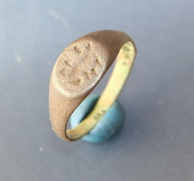 Ancient Old Medieval Bronze Ring (MT01)