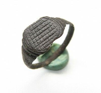 Ancient Old Viking Bronze Ring (JLE03)