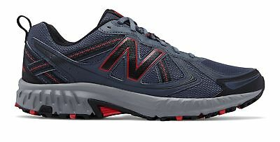 New Balance Men's 410v5 Trail Shoes Grey with Red & Black