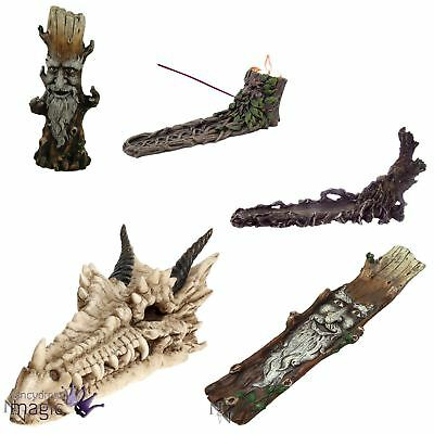 Nemesis Now Gothic Dragon Skull Tree Halloween Incense Burner Home Gift Decor