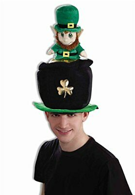 Forum St. Patrick's Day Costume Party Leprechaun Pot Of Gold Hat,