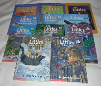 HUGE set of 11 The Littles series books by John Peterson