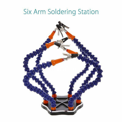 RC 6-Arm Helping Hands Soldering Tool Electronics Workstation DIY for RC Racing