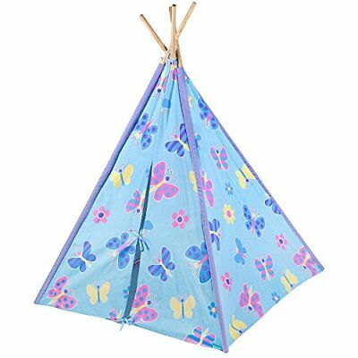 Olive Kids Butterfly Garden Canvas Teepee