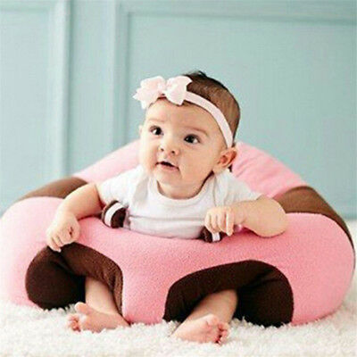 Lovely Colorful Baby Support Seat Soft Chair Car Cushion Sofa Plush Pillow Toys