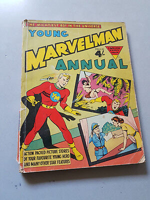 YOUNG MARVELMAN ANNUAL 1955 No. 2 L. Miller & Son