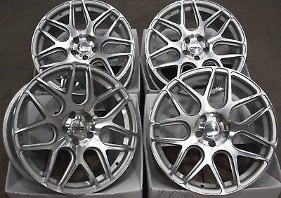 "Alloy Wheels 18"" Inch Cruize Cr1 Sfp Silver Polished Concave Van Wheels 5X120"