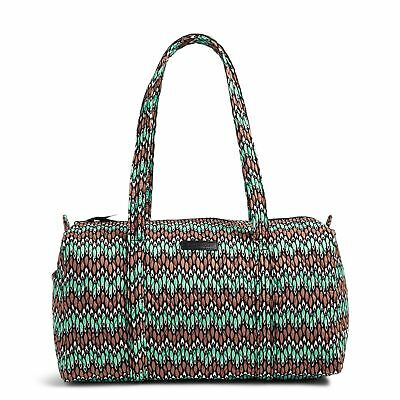 Vera Bradley Factory Exclusive Small Duffel Travel Bag  in Sierra Stream