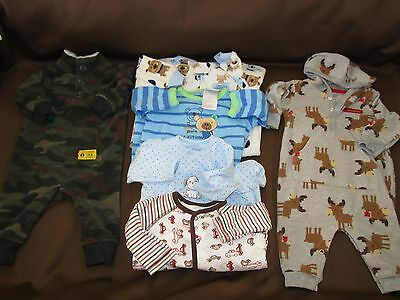 Boys 3-6 Month 6 med- heavy  Sleepers, 2 could be as outfit