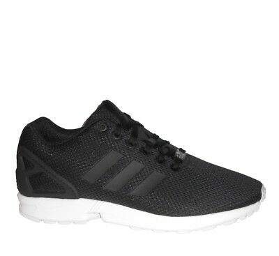 113f042dc adidas ZX Flux Mens Shoe Running Trainer Size 9 9.5 10 Black New Runner RRP  £