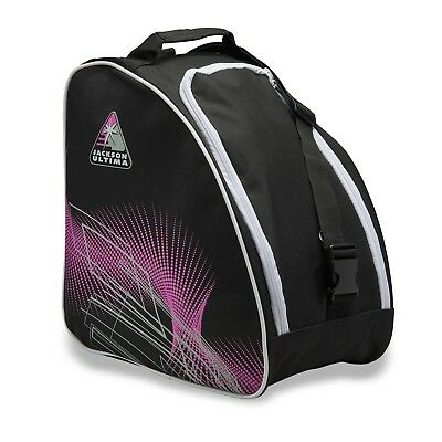 Jackson Oversized Ice Skate Bag - Black / Purple