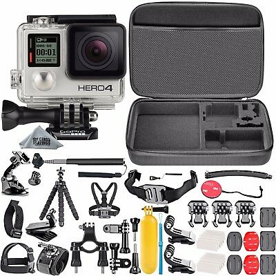 DEAL: GoPro HERO4 Silver Edition +50 Piece Hero 4 Accessory Kit Camera Camcorder