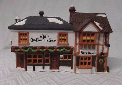 """Dept. 56 ~ Dickens' Village ~ """"THE OLD CURIOSITY SHOP"""" ~ Perfect Cond in Box"""