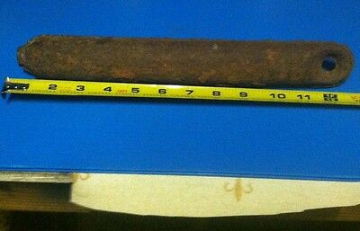 """ANTIQUE Window Weight Boat Anchor 13"""" And 6 Pounds 12 Ounces Sash Upcycle"""