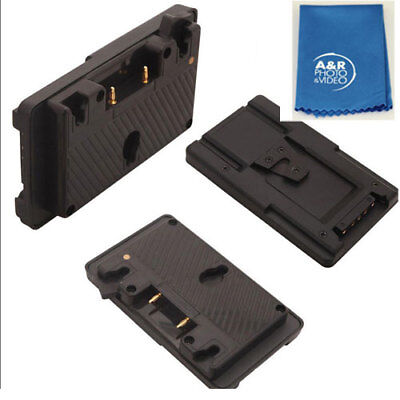 Gold Mount to V Mount Battery Adapter Plate Converter with D-tap Port UC9559 Kit