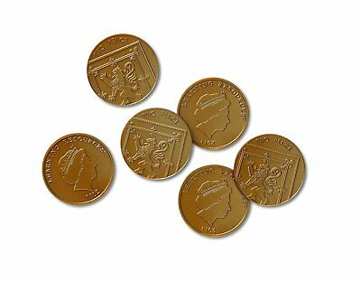2p Two Pence Pieces Play money Learning Resource maths shop plastic coins