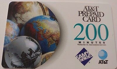 AT&T Prepaid Card, 1999 Vintage Collectible