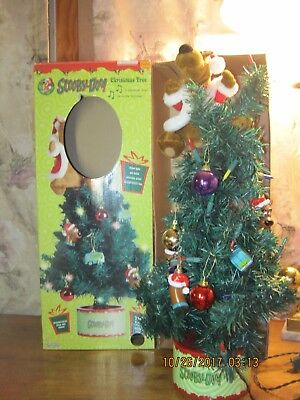 Scooby-Doo Gemmy Industries Christmas Tree Animated Singing Ornaments HTF