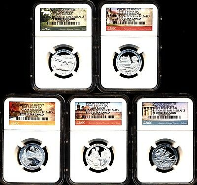 2017 S Limited Edition Silver Proof Quarter Set Ngc Pf70 Uc Er Early Releases