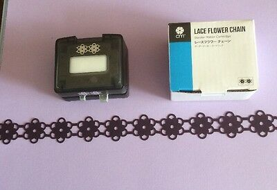 "Cartridge For Creative Memories Border Maker "" Lace Flower Chain"