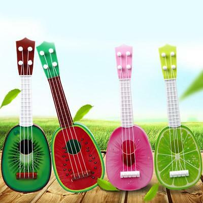 Kids Fruit Ukulele Ukelele Small Guitar Musical Instrument Educational Toy S