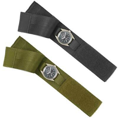 Commando Military Army Tactical Hiking  Protective Watch Strap Cover Wrist Band