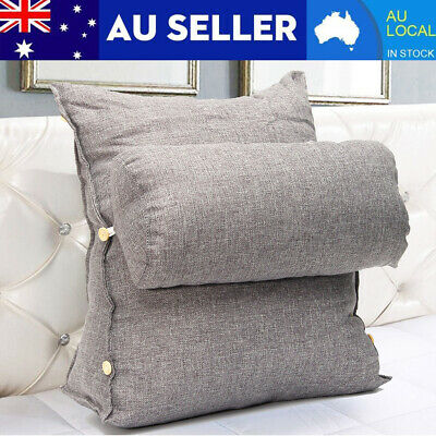 AU Sofa Bed Chair Office Rest Neck Back Support Wedge Cushion Pillow Adjustable