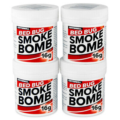 Bed Bug Killer Treatment XL PRO Smoke Fumer Pest Fogger CritterKill Smoker TIN