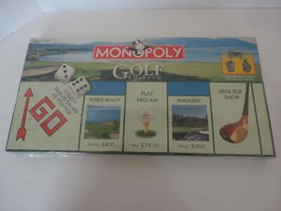 Monopoly Board Game GOLF EDITION Factory Sealed NEW!
