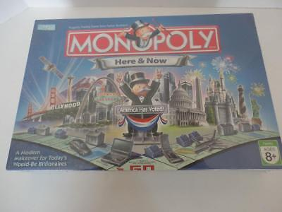 Monopoly Board Game HERE AND NOW Factory Sealed NEW!