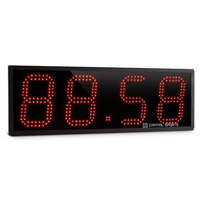 Capital Sports Sports Timer Tabata Stopwatch Cross-Training 4 Digits Beep