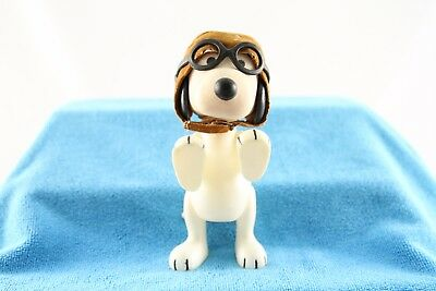 VTG Snoopy Flying Ace Red Baron 1966 United Features Syndicate Plastic Poseable