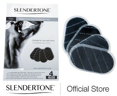 SLENDERTONE REPLACEMENT PADS MALE ARMS - 3 for 2 Triple Pack 3 Full Sets of Pads