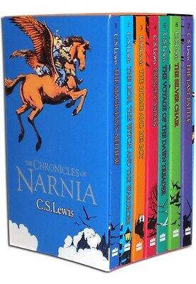 C.S. Lewis The Chronicles of Narnia 7 Books Box Set Pack