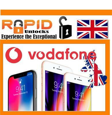 Unlocking Service For Iphone X For Vodafone Uk Only Need Imei No Number
