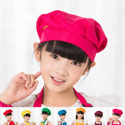 Comfortable Cooking Adjustable Adult Kids Kitchen  Chef Elastic Cap Hat Catering