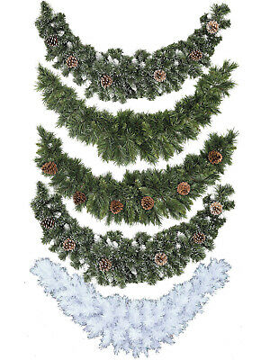 Swag Garland Wreath Christmas Decoration Ornament Xmas Festive Pinecones Fir