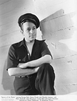 George Raft - Spawn of the North (1938)    -  8 1/2 X 11
