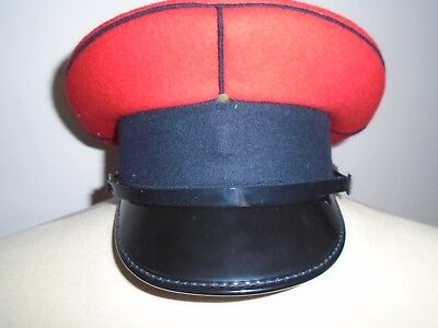 Queens Royal Lancers Mans Peaked Cap Size 54Cm British Army Issue