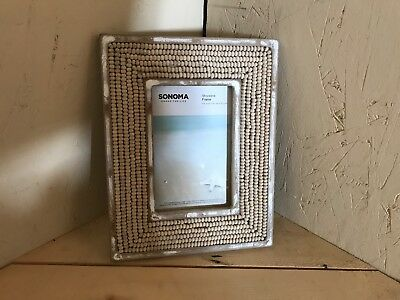 Sonoma Picture frame great for the ocean lover.  Brand New. Free Shipping.