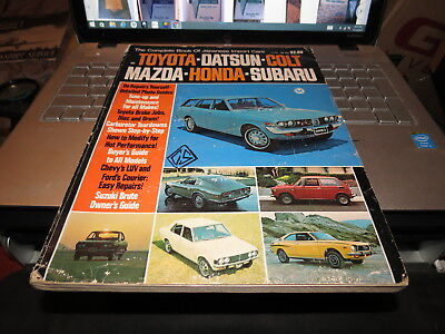 Vintage THE COMPLETE  Book  OF JAPANESE IMPORT CARS