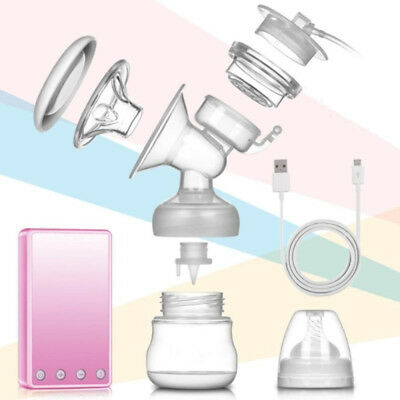 Electric Breast Pump Nipple Massager Breastpump Enlarger Kit With Bottle Suction