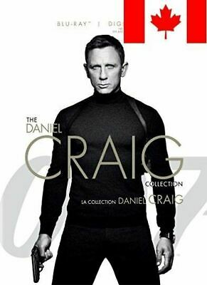 James Bond-Daniel Craig 4 Pack Collection (Bilingual) [Blu-ray + Digital Copy]