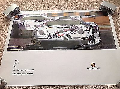 Le Mans 1996 - 1st 2nd 3rd Racing Poster
