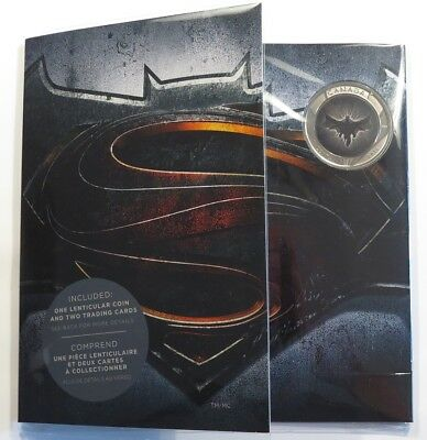 25 Cent 2016 - Kanada - Superman vs. Batman  Blister