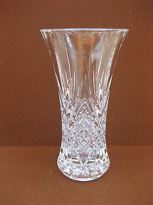 """Masquerade 24% Lead Crystal Vase ~ Cristal D'Arques ~ Boxed ~ 9 1/2"""" ~ France"""