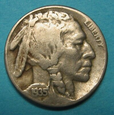 1935-S Buffalo Nickel Grading in the VG Range Nice Original Coins DUTCH AUCTION