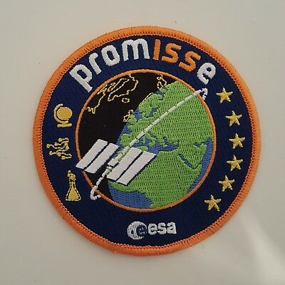 Official PromISSe Andre Kuipers patch ESA