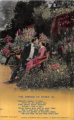 POSTCARD  SONG  CARDS     The  Garden  of  Roses  (2)